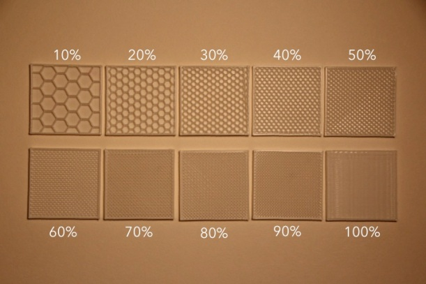 Infill Percentages